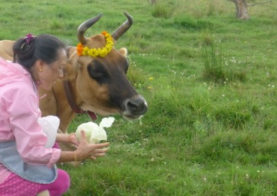 Caring for and honoring those who have given so much loving milk in their lives and whose presence only nourishes.